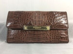 Card Holder Heritage By Brown Crocodile Credit Pattern Vicevano Wallet tdrsCQhx