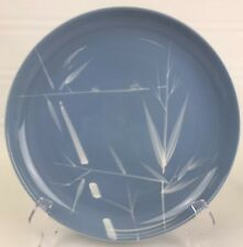 Winfield China Blue Pacific 10.25? inch dinner plate vintage retro EUC H4