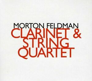 Pellegrini-Quartet-Morton-Feldman-Clarinet-And-String-Quartet-CD