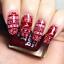 Nail-Art-Stamping-Plates-Bild-Platte-Born-Pretty-Weihnachten-Schneeflocken