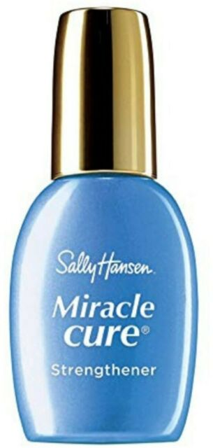 Sally Hansen Miracle Cure Nail Strengthener Clear 0.45 Oz