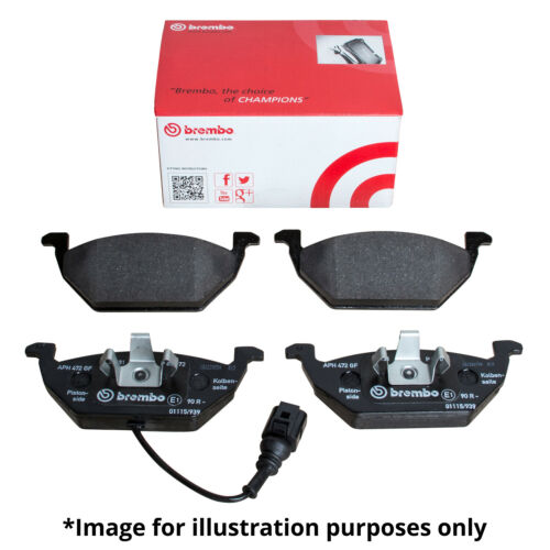 GENUINE BREMBO BRAKES FRONT BRAKE PAD SET BRAKE PADS P68040 BRAKE KIT