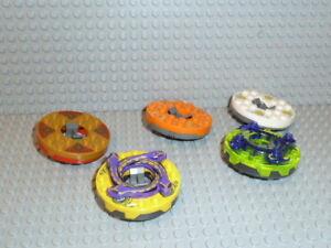 LEGO-Ninjago-5x-Spinner-Figuren-Zane-Cole-Kai-ZX-Krazi-Sensei-Wu-Lloyd-F1972