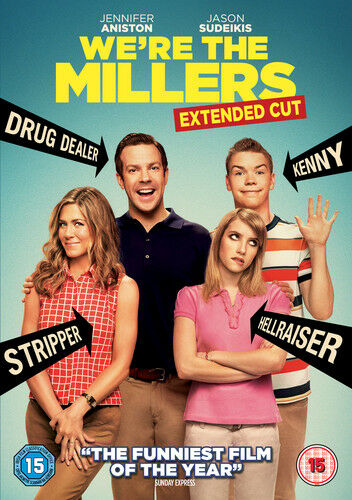 We're the Millers: Extended Cut DVD (2013) Jason Sudeikis ***NEW***