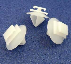 For exterior door mouldings side trims /& bumpstrip 10x Honda Plastic Trim Clips