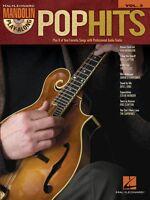 Pop Hits Sheet Music Mandolin Play-along Book And Cd 000702519