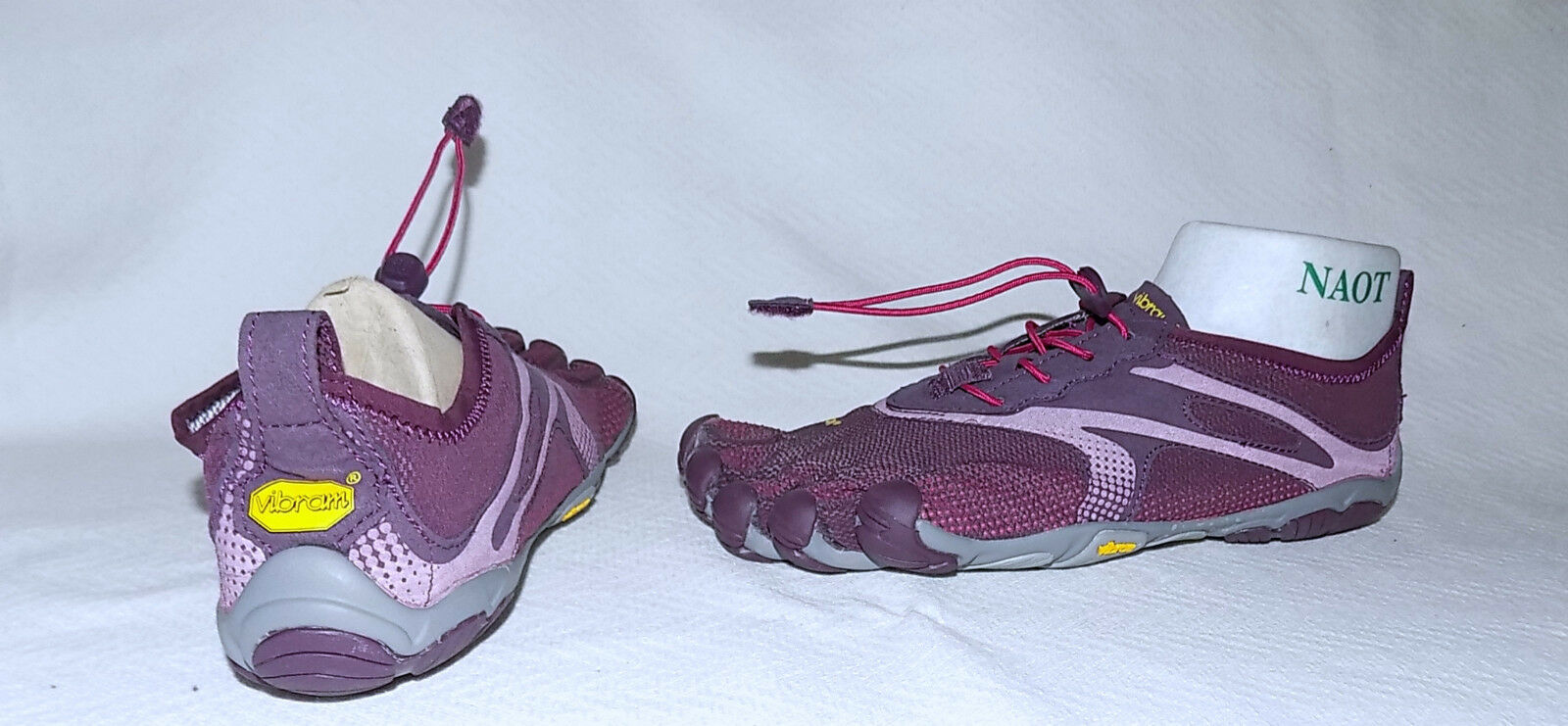 VIBRAM Five Fingers Fingers Fingers Sport Orthopedic Shoes-Size 38=6,1/2M-Purple-Great condition 51aaaa