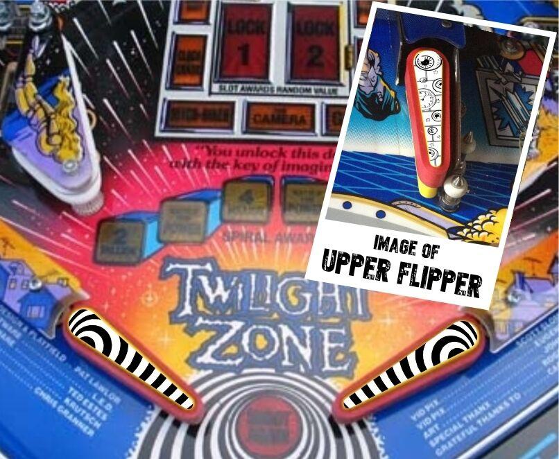 Twilight Zone Flipper Bat Topper MOD for Bally Twilight Zone Pinball Machine