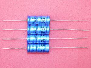 5x 470uF 25V 125°C CAPACITORS PHILIPS Electrolytic Axial BC Vishay