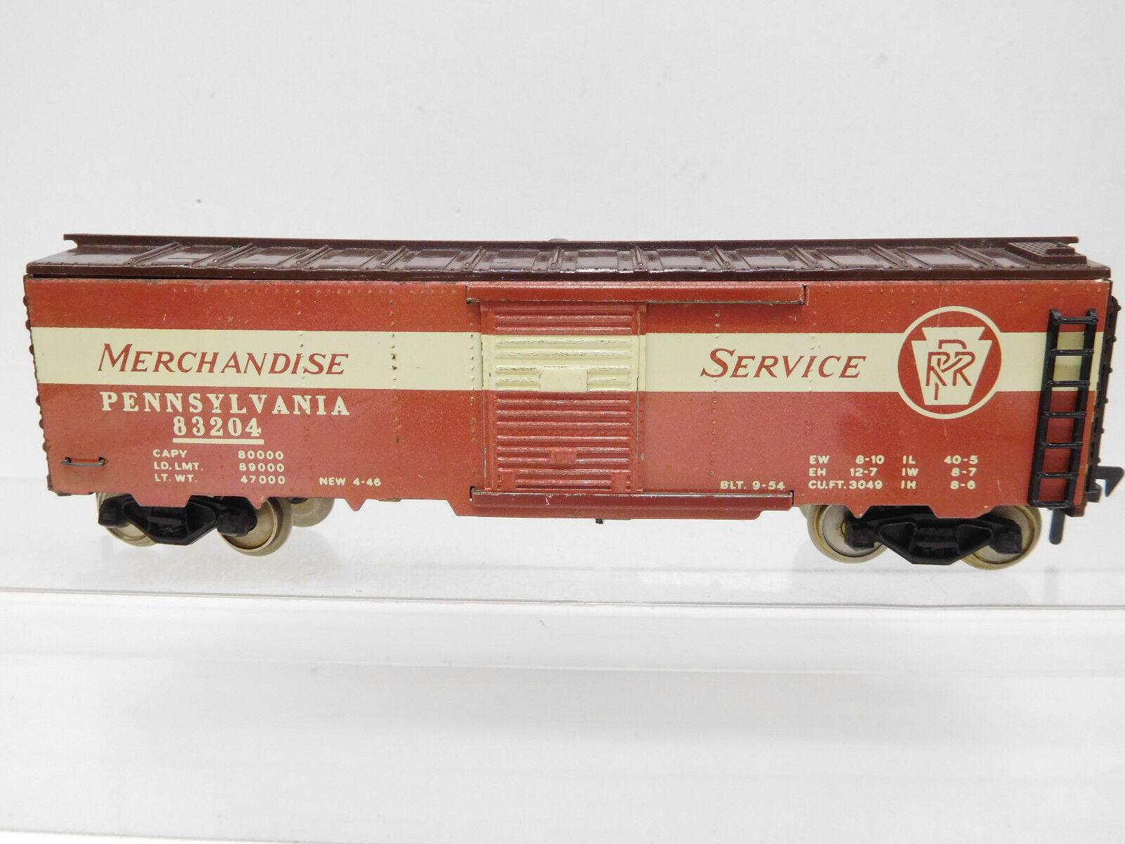 MES-52568 Fleischmann H0 US Güterwagen Merchandise Service
