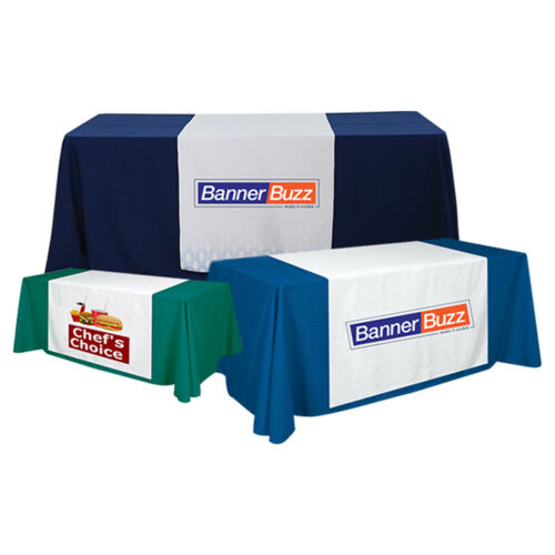 2/' X 5.67/' Table Cover not Included Custom Table Runner for Table Tradeshow
