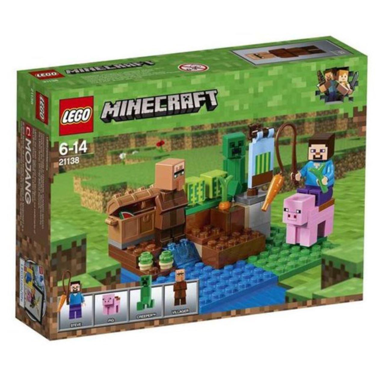 [LEGO] Minecraft™ The Melon Farm 21138 2018 Version Free Shipping Shipping Shipping f4e02e
