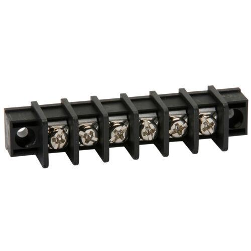 NTE 25-B100-06 6 Pole Solder Lug Type Barrier Terminal Strip