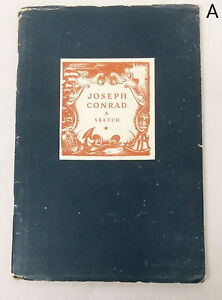 1924-1st-Edition-Joseph-Conrad-A-Sketch-Illustrated-Biography-with-Bibliography