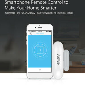 Home-Security-WiFi-Smart-Door-Window-Sensor-Magnetic-Detector-Burglar-Alarm