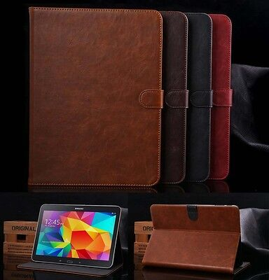 "Luxury Leather Smart Case Cover For SAMSUNG Galaxy Tab4 10.1"" T531"