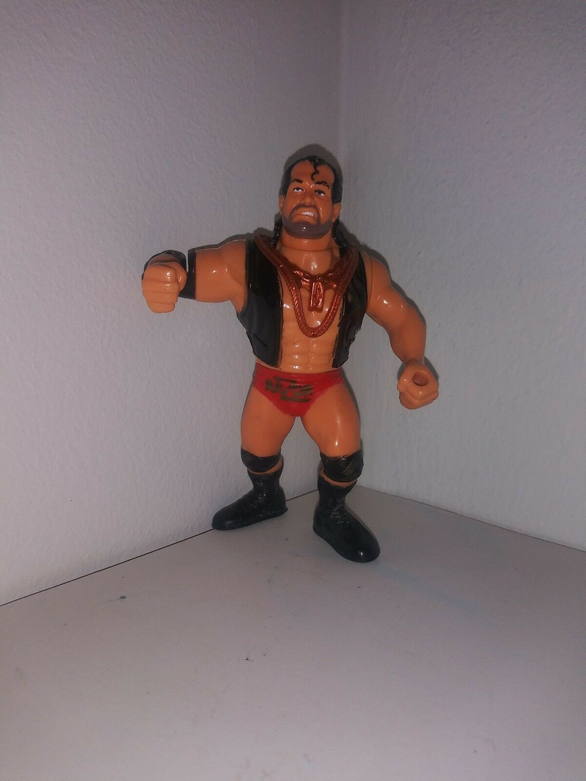 Wwf Funskool Razor Ramon with chains hasbro.
