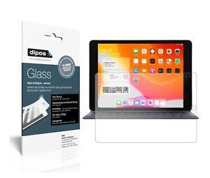 2x-Schutzfolie-fuer-Apple-iPad-10-2-Zoll-2019-matt-Anti-Shock-9H-Folie-dipos