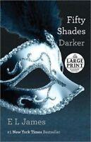 Fifty 50 Shades Darker Of Grey Trilogy 2 El James Large Print Pb Romance