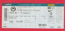 Orig.Ticket   Europa League  2009/10   HERTHA BSC BERLIN - FK VENTSPILS  !!