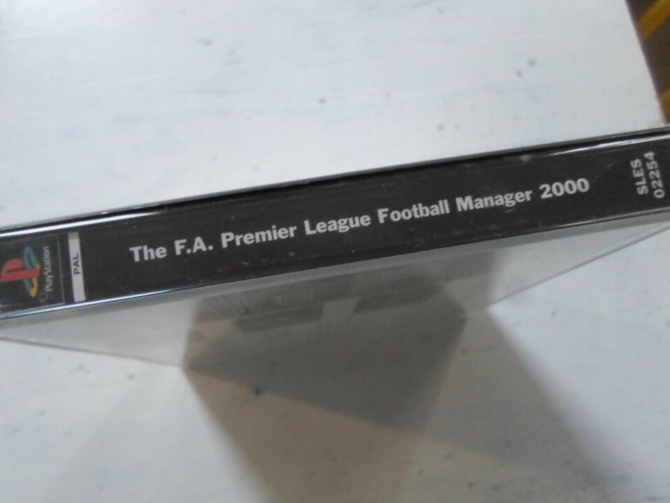 Football manager 2000, PS