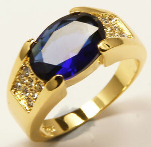 Men039s 10 carat Gold Filled simulated Sapphire Blue Ring Jewellery UK Size V - <span itemprop=availableAtOrFrom>Wrexham, United Kingdom</span> - Buyer pays for return unless it is faulty. Returns will not be accepted if they have been worn. Most purchases from business sellers are protected by the Consumer Contract Regulations 201 - Wrexham, United Kingdom
