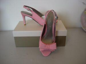 coral Shoes Vert new Jacques 6 Bow Size Trim t864Iwq