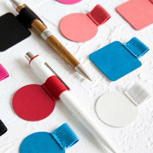2x Stifthalter selbstklebend Stiftehalter Schreibhilfe Stiftschlaufe Stiftlasche