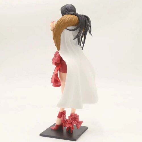 New One Piece Cape Red Dress Boa Hancock PVC Figure Collection Toys In Box