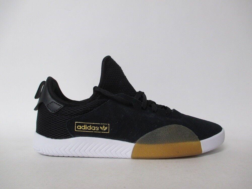 Adidas 3ST.003 Black White Gum gold Sz 9.5 B27820