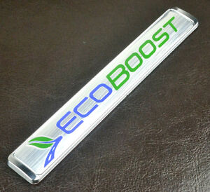 1x-Silver-ECOBOOST-Emblem-Sticker-Badge-Car-Side-Wing-Rear-Trunk-Decal-for-F150