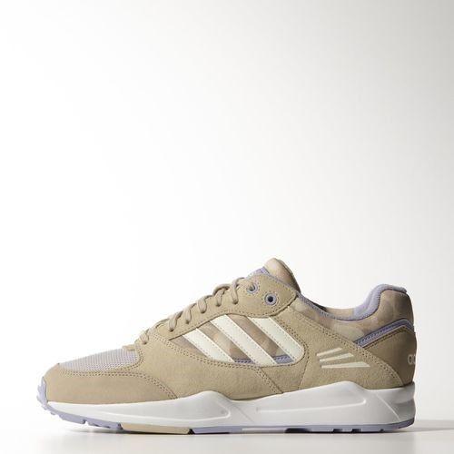 adidas Originals Turnschuhe TECH SUPER W M29139 beige Echtleder Damen Sneakers