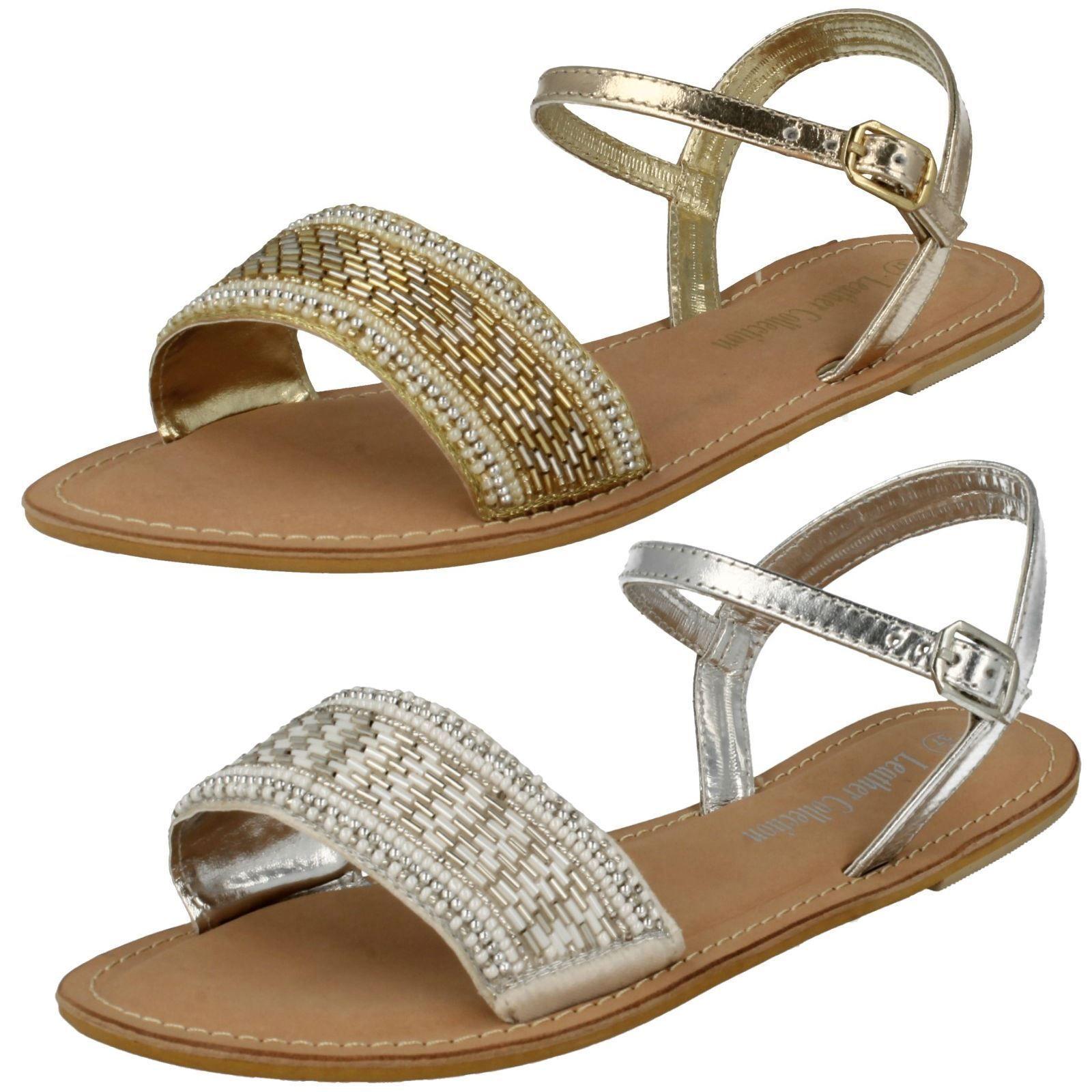 Da Donna Color misure Oro Leather Collection sandali misure Color F0896 293e1b