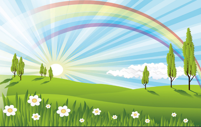 3D Rainbow 625 625 625 Wallpaper Murals Wall Print Wallpaper Mural AJ WALL UK Summer b1d245
