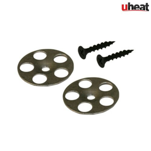 35mm Tile Backer Board Washers with 25mm Screws Fixing Discs Wall Floor Panels