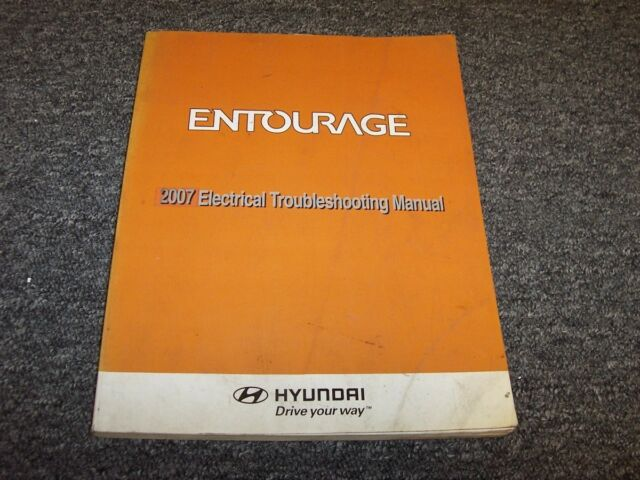 2007 Hyundai Entourage Electrical Wiring Diagram Manual Se