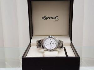 Original-INGERSOLL-Herrenuhr-Swiss-Made-3-Diamanten-UVP-480-Boxed-A62