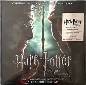 Alexandre Desplat 2xLP Harry Potter And The Deathly Hallows Part 2 (Original Mo