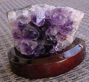 Amethyst-Crystal-Druze-Gem-Gemstone-Cluster-amp-Stand-EBS1640
