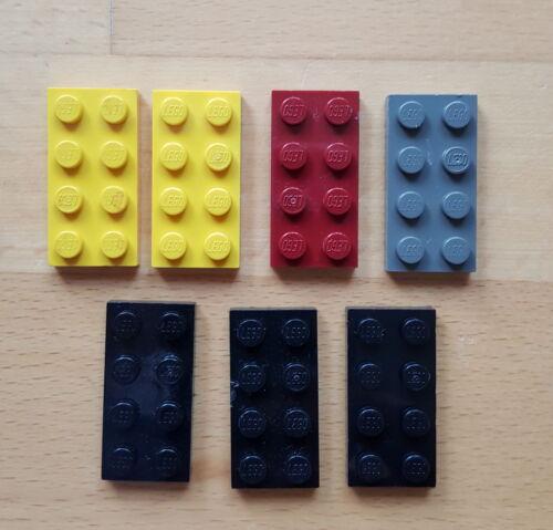 Lego 3020 Bauplatte 2x4 Baustein 7 Stück viele Farben große Auswahl 32