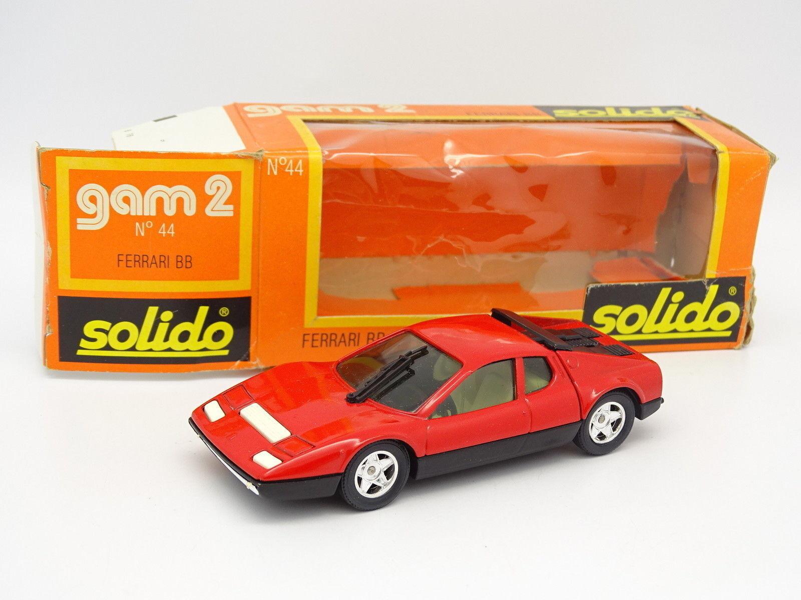 Solido 1 43 - Ferrari 512 BB Red Ref 44