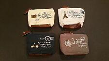 Mini Small Tiny Cute Women Lady Girl Pouch Cash Coin Key Purse Canvas Bag Wallet