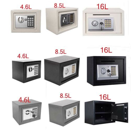 Electronic PIN Code Security Safe Money Cash Deposit Box Office Home Safety Key