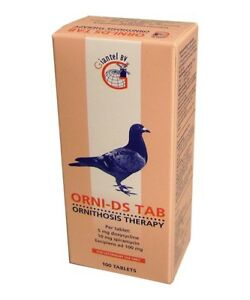 Tricho 40 by Giantel canker Treatment Pigeon Product ronidazole 40mg