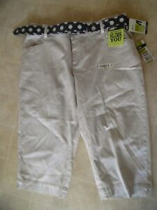 Capri 16w Crop Lee Beige Medium Pants zPwEnYqnp