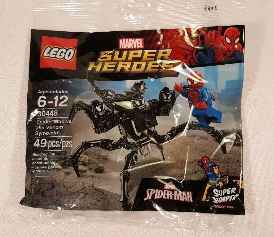 LEGO Super Heroes Polybag Spider-Man vs. Venom Symbiote (30448) NEW SEALED MCU