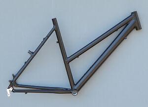 Trekkingrad-Sport-Damen-Rahmen-53-cm-schwarz-matt-28-034-Aluminium-STD-NR700