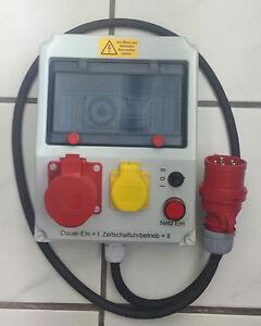 Gewaechshaus-Zeitschaltuhr-Drehstrom-400-Volt-16-Amp-robuste-Ausfuehrung