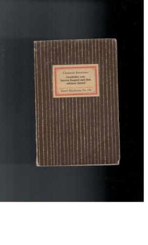 1 von 1 - Clemens Brentano - Geschichte vom braven Kasperl und dem schönen Annerl - 1942