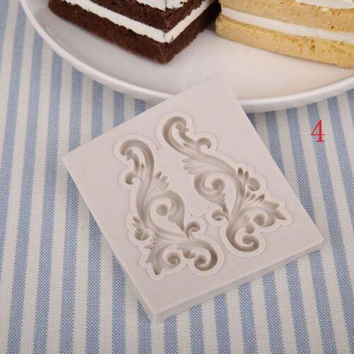 Cookies Chocolat Pain Décoration Pâtisserie Moule Baroque conçu cuisine moule